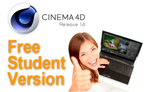 Free CINEMA 4D Student & Teacher